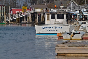 Lobster Boat at New Harbor, Maine (C) 2013 Ret Talbot