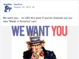 "StarKist Launches ""Made in America"" Brand in 2013"