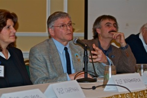 Senator Chris Johnson Responds to Question at the Maine Fishermen's Forum