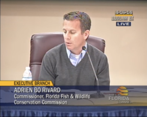 FWC Commissioner Adrien Bo Rivard