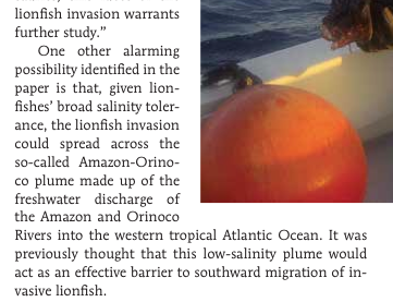 July/Aug 2014 CORAL Magazine Article Excerpt