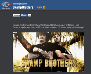 Discovery Channel Swamp Brothers
