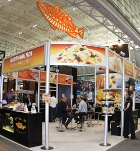 The Australis Booth at Seafood Expo North America
