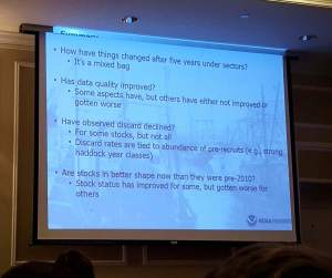 NMFS Biologist Michael Palmer's Assessment of five years of Sector Management in NE groundfish fishery as presented at the Maine Fishermen's Forum